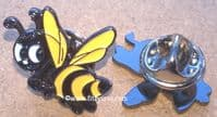 Bumble Bee Pin Badge Busy Honey Beehive Brooch